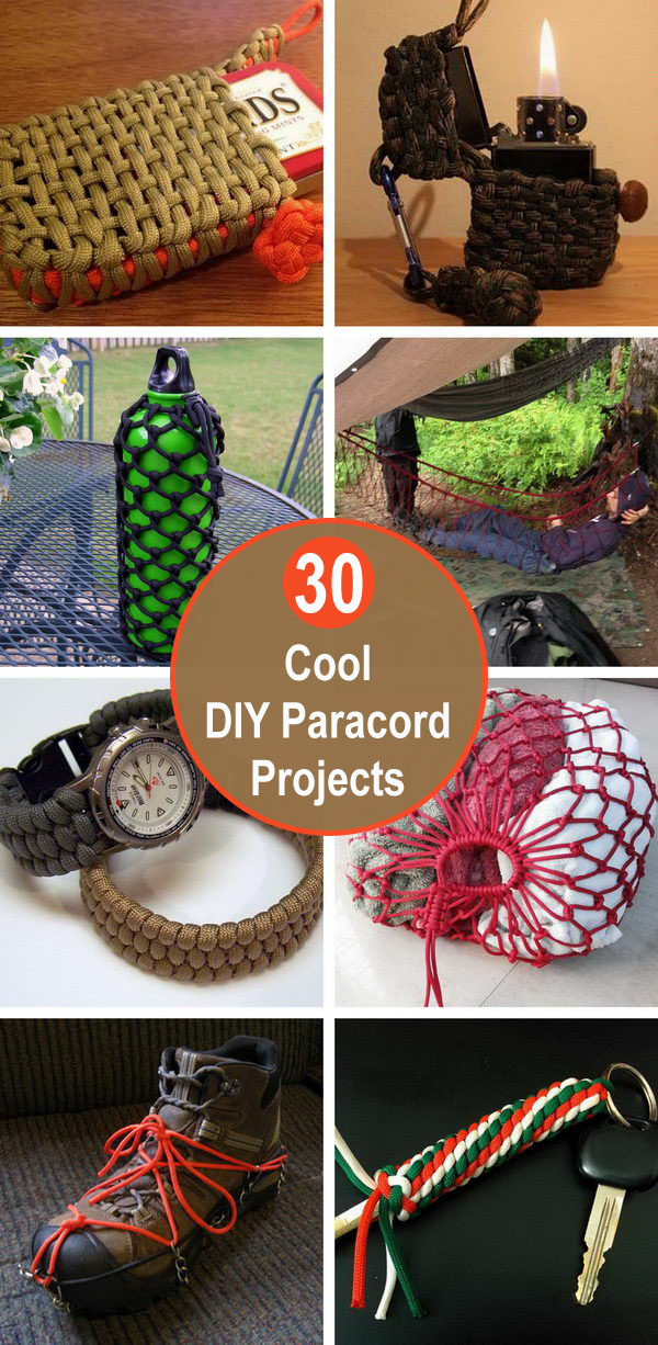 30 Cool DIY Paracord Projects.
