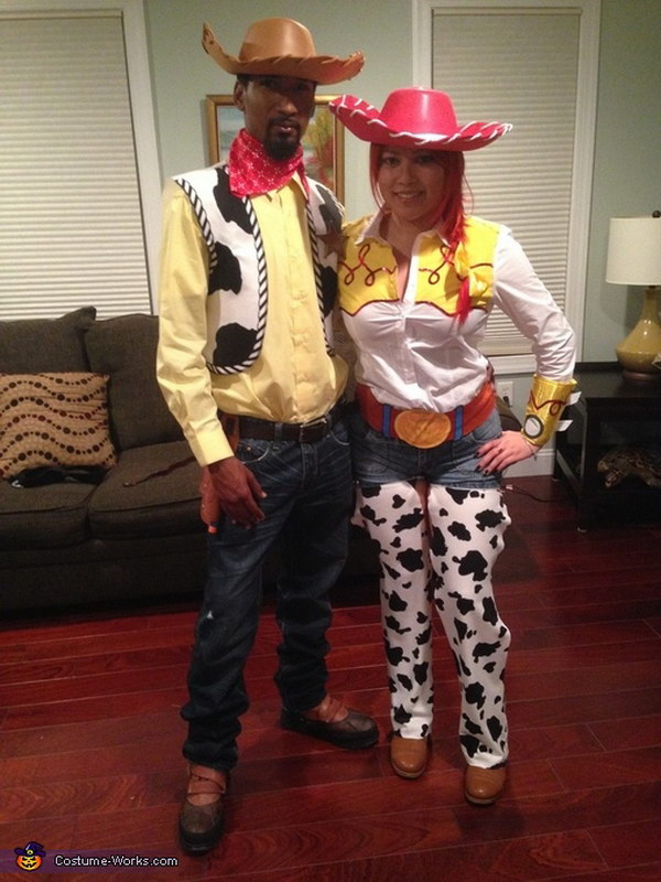 Jessie & Woody Couple Costume.