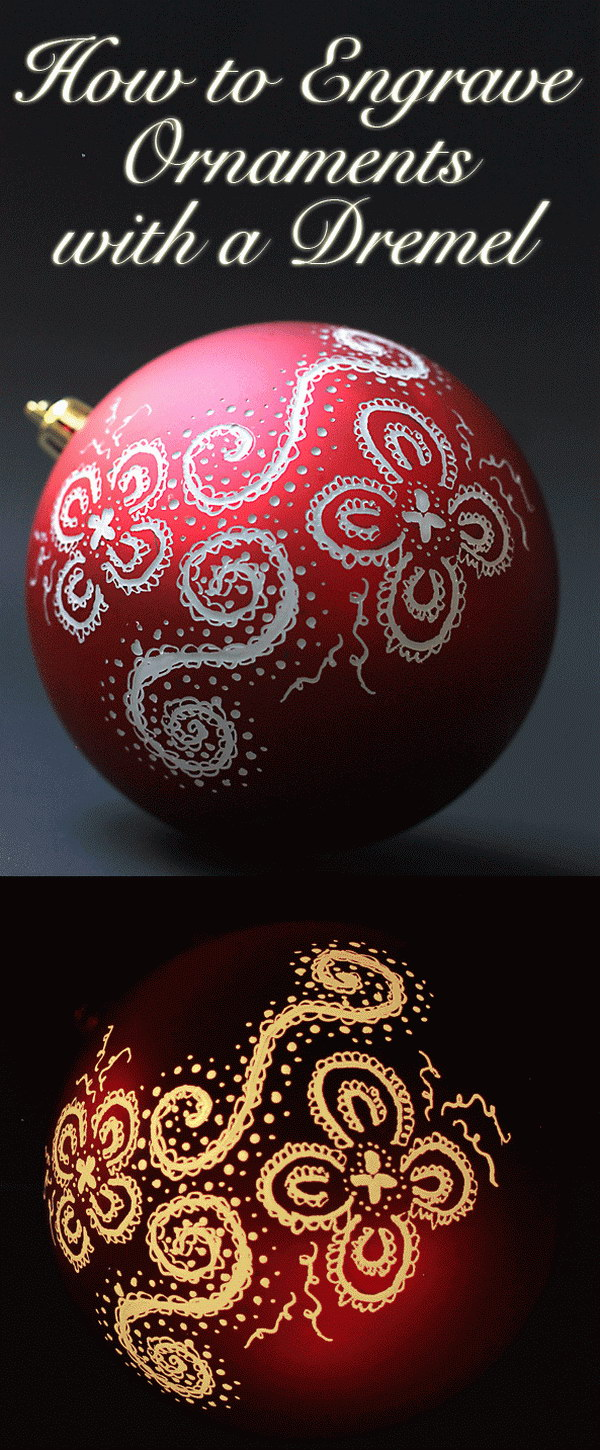 Engraved and Illuminated Ornaments