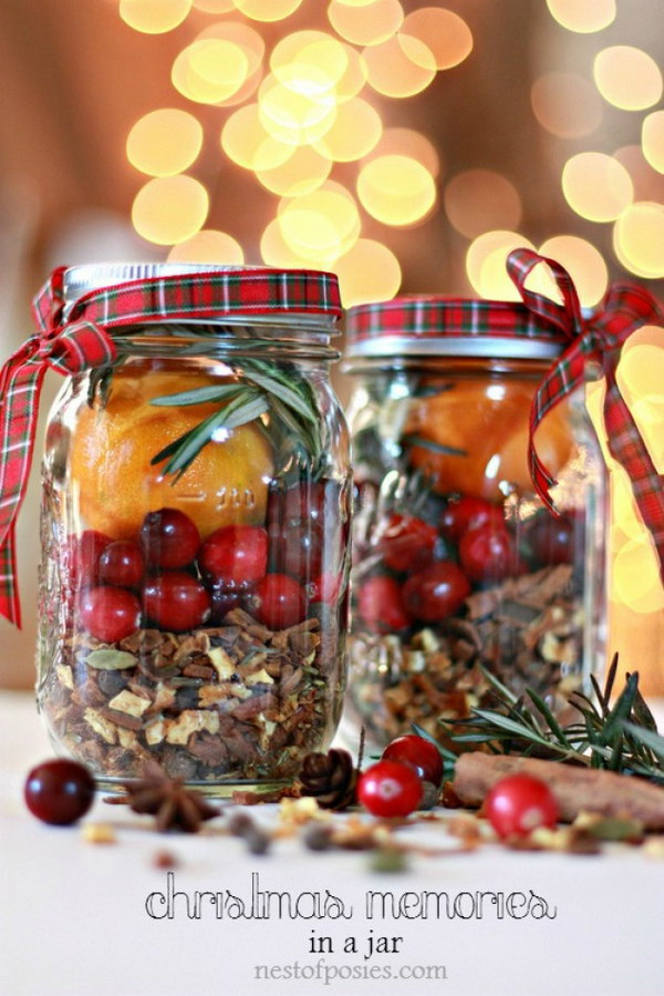 Christmas in a Jar   Mulling Spices.