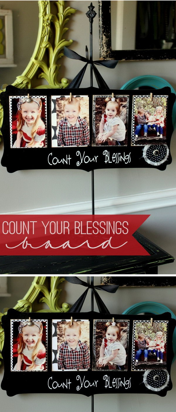 Count Your Blessings Board.