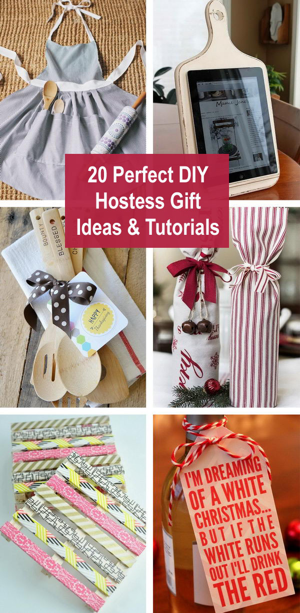 20 Perfect DIY Hostess Gift Ideas & Tutorials
