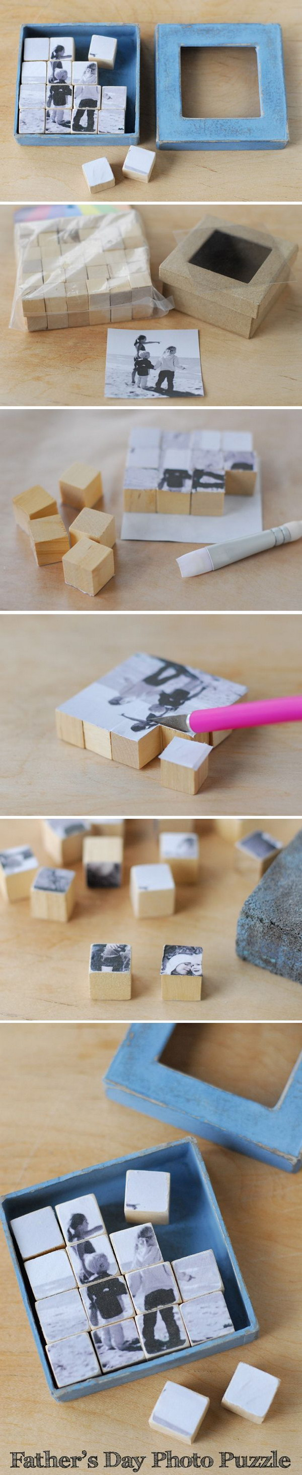 20 Diy Photo Gift Ideas Tutorials