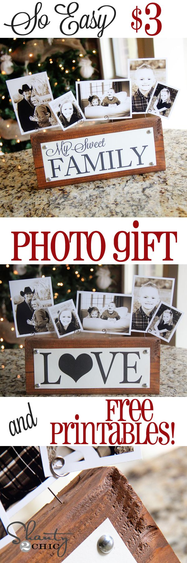 What a sweet and affordable gift to give for anyone in your life. Also easy to make at home!