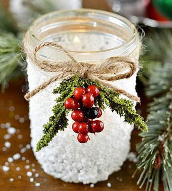 1 diy mason jar ideas tutorials for holiday