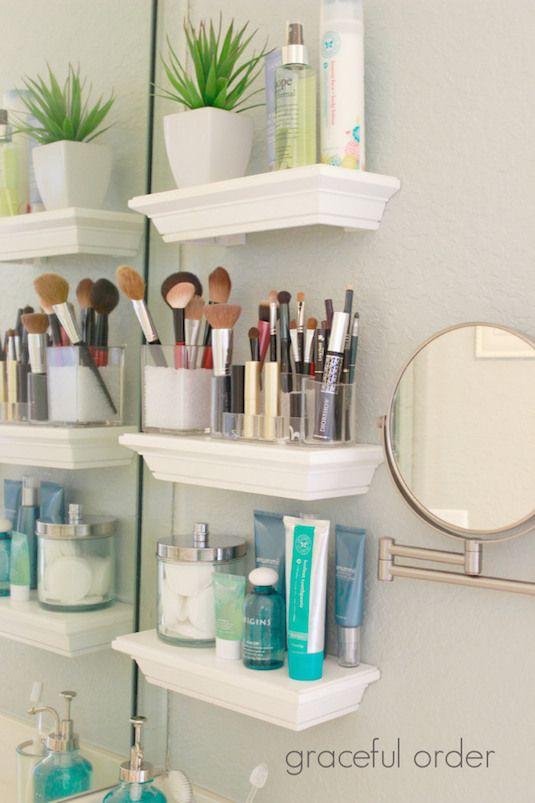 Floating Vanity Shelves.