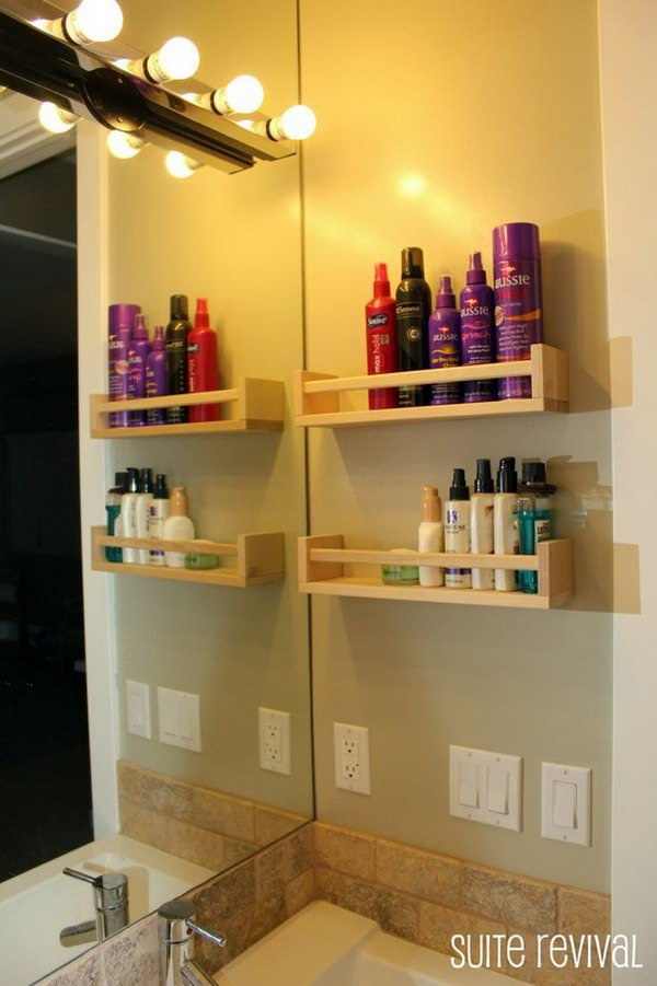 Spice Racks Wall Shelf.
