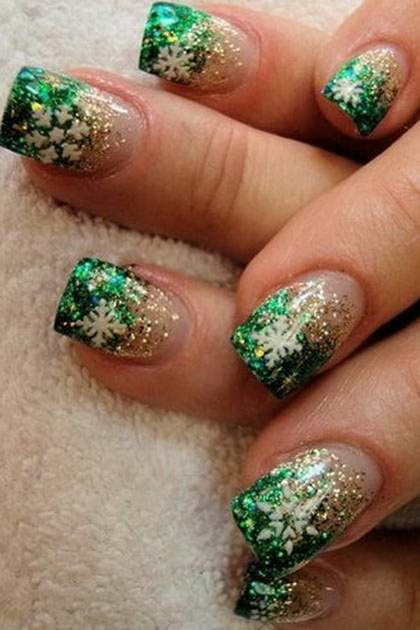 50 festive Christmas nail art designs \u2013 Bowie News