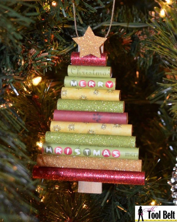 30 diy ornament ideas tutorials for christmas Diy christmas tree decorations
