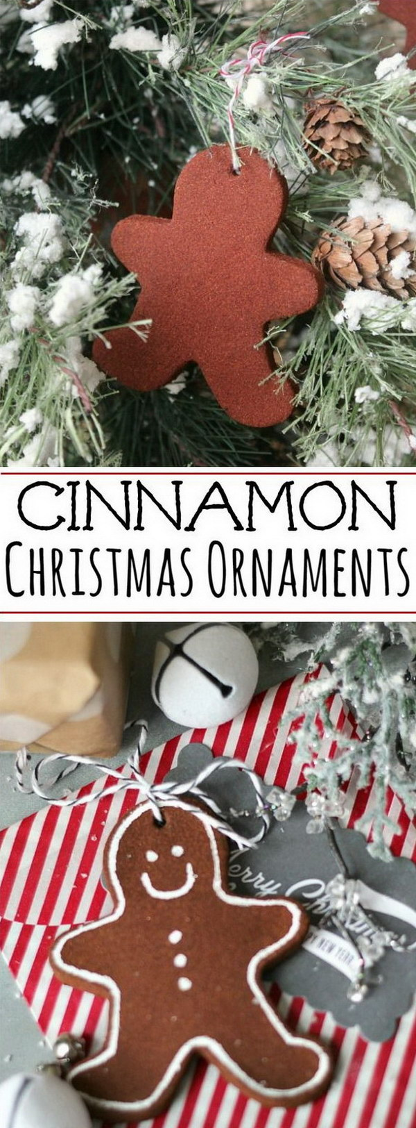 Cinnamon Christmas Ornaments.