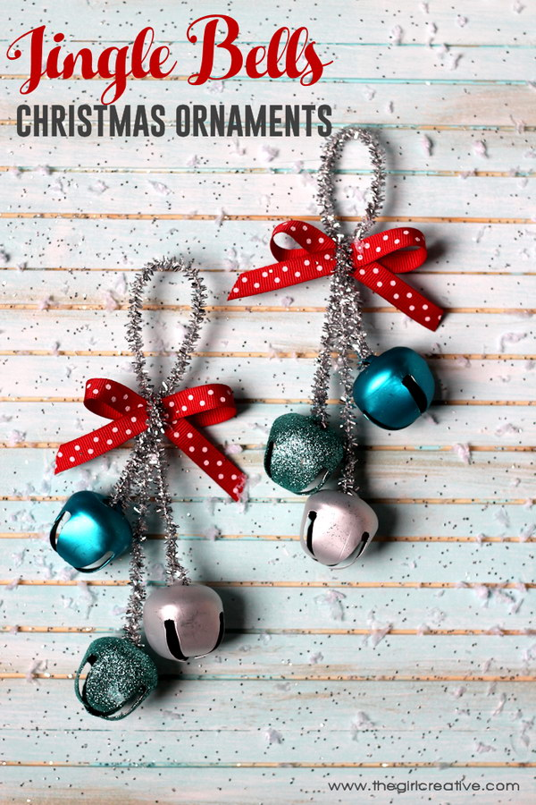 Jingle Bells Christmas Ornaments.