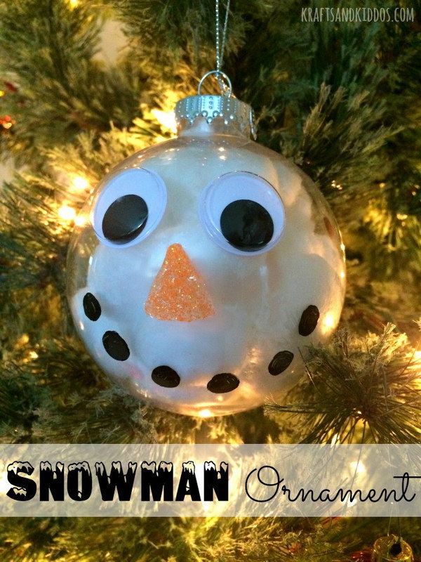 Snowman Christmas Ornament.