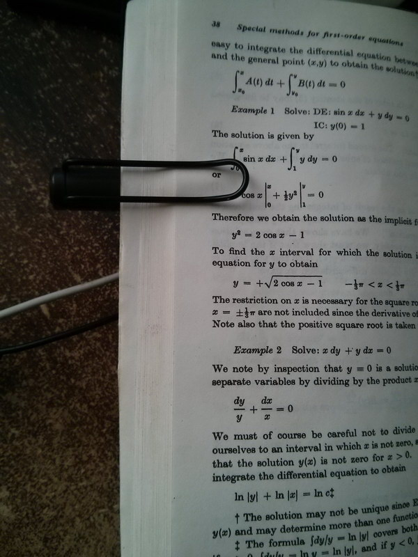 Keep your textbook open Using a Pen with a Clip.