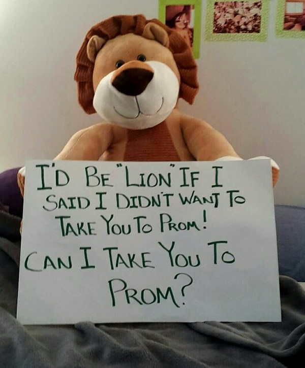 Cool ways to ask a guy to prom