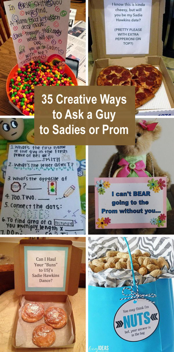 35 Creative Ways To Ask A Guy To Sadies Or Prom.