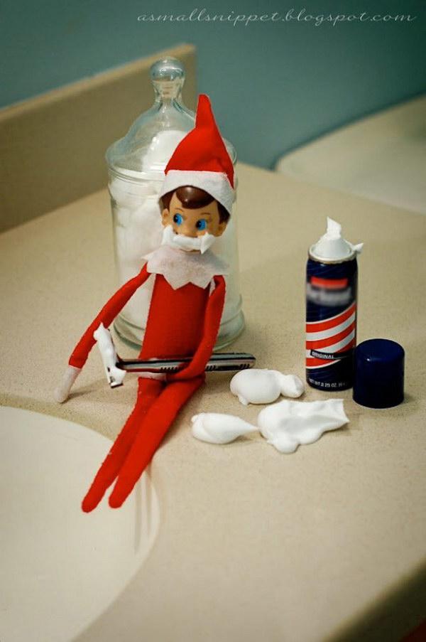 Shaving Elf.