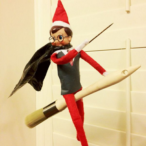 Elf on the Broom.