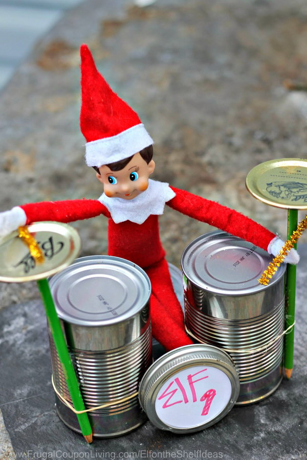9 elf on the shelf ideas