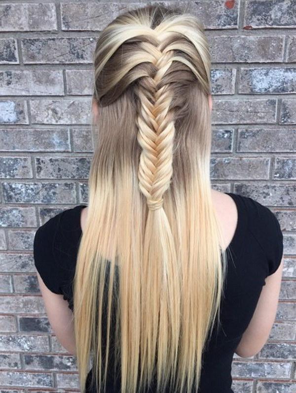 Pleasant 55 Stunning Half Up Half Down Hairstyles Styletic Short Hairstyles For Black Women Fulllsitofus