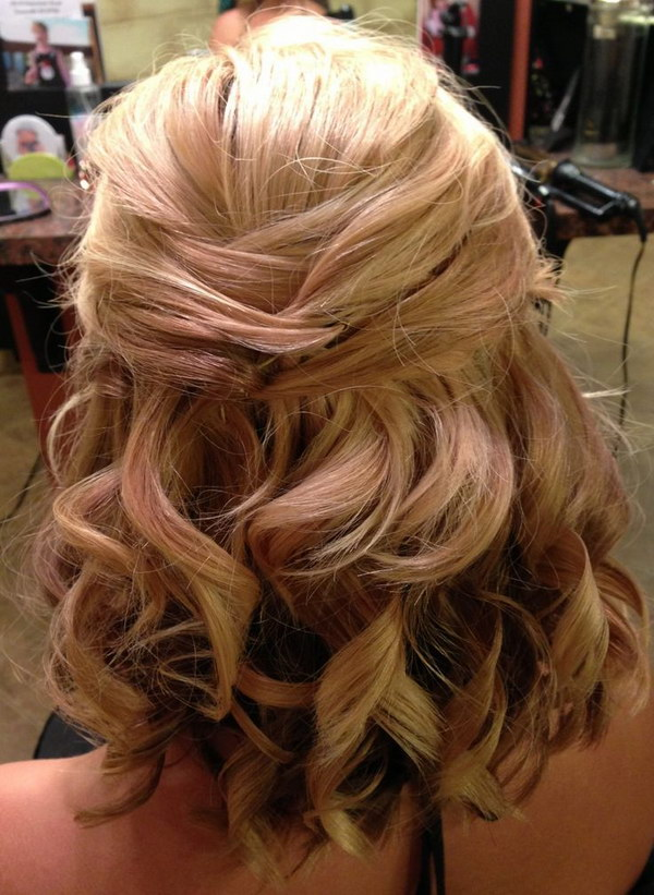 55 Stunning Half Up Half Down Hairstyles