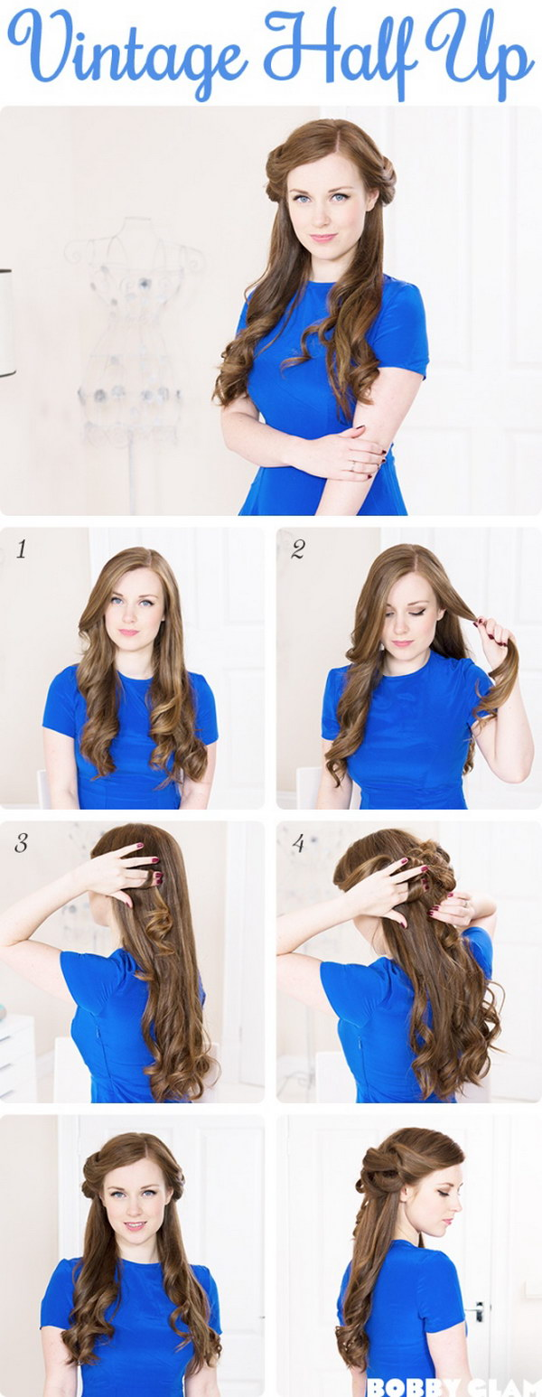 55+ Stunning Half Up Half Down Hairstyles