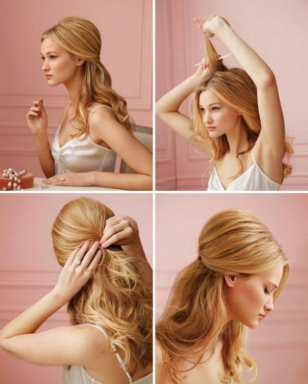 Tremendous 55 Stunning Half Up Half Down Hairstyles Styletic Short Hairstyles Gunalazisus