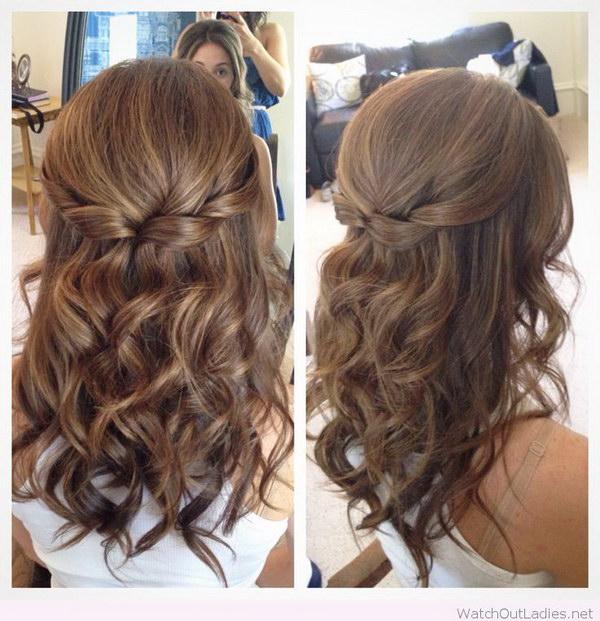 Astounding 55 Stunning Half Up Half Down Hairstyles Styletic Short Hairstyles Gunalazisus