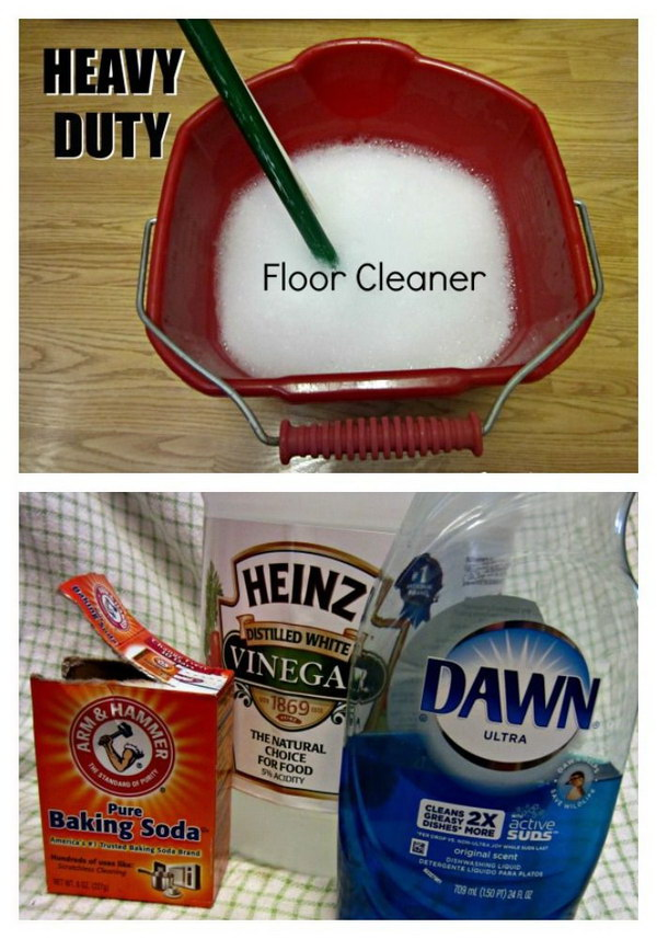 DIY Heavy Duty Floor Cleaner.