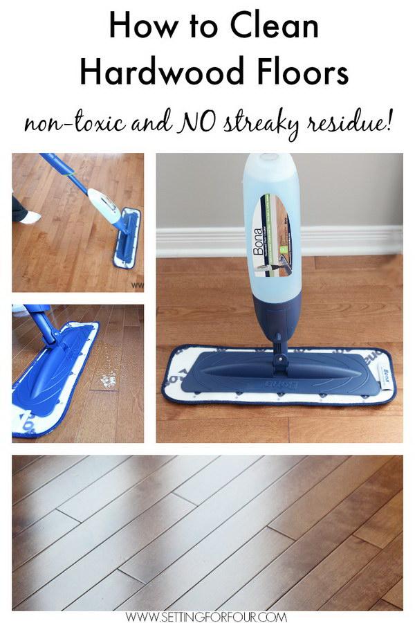 Non Toxic Hardwood Floor Cleaning.