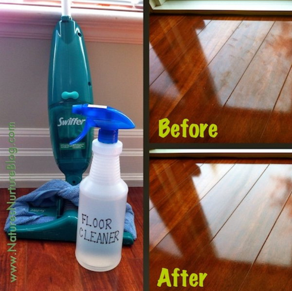 All purpose Homemade Floor Cleaner.