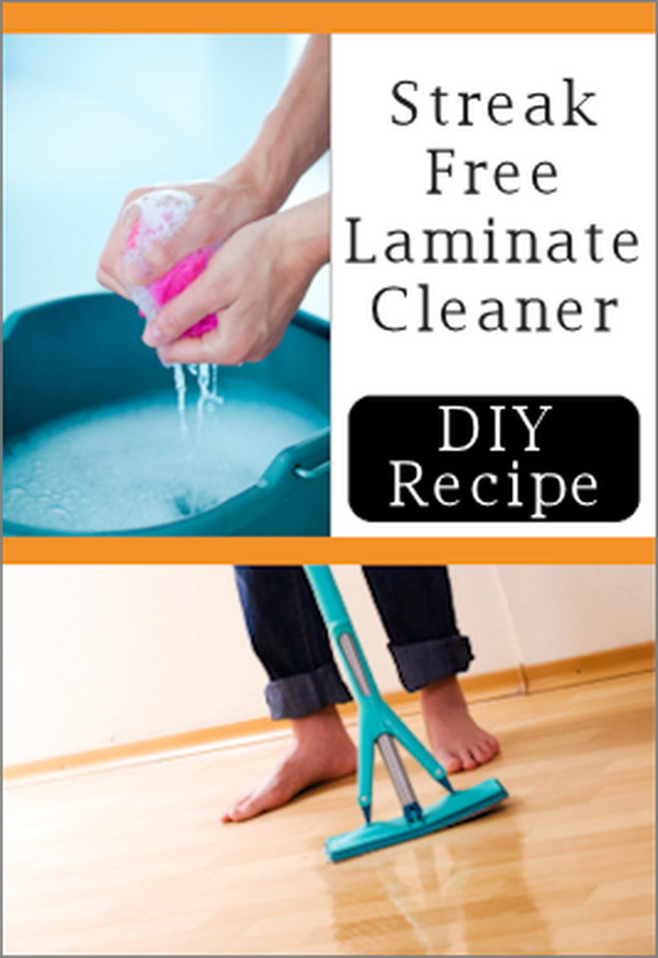 DIY Recipes for Laminate Floors Cleaning.
