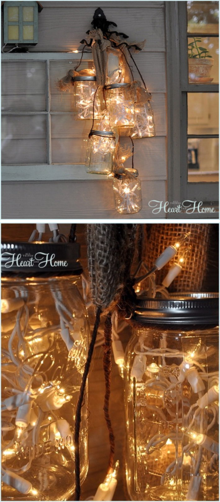 DIY Mason Jar Light