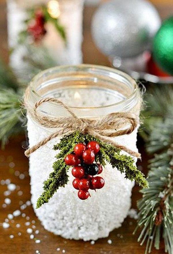 40 Diy Mason Jar Ideas Tutorials For Holiday