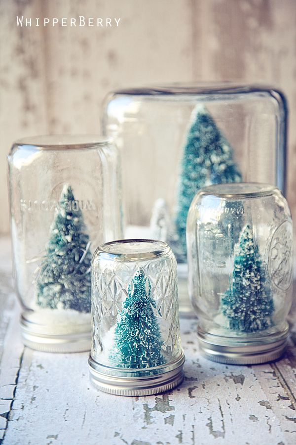 Christmas Mason Jar Candles