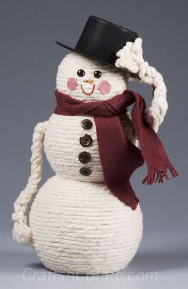 25 diy snowman craft ideas tutorials