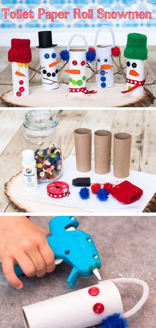 25+ DIY Snowman Craft Ideas  TutorialsStyletic