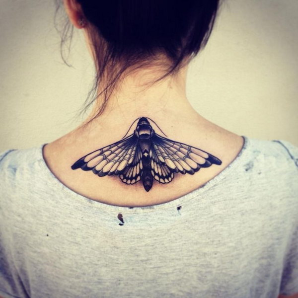 Splendid Moth Tattoo
