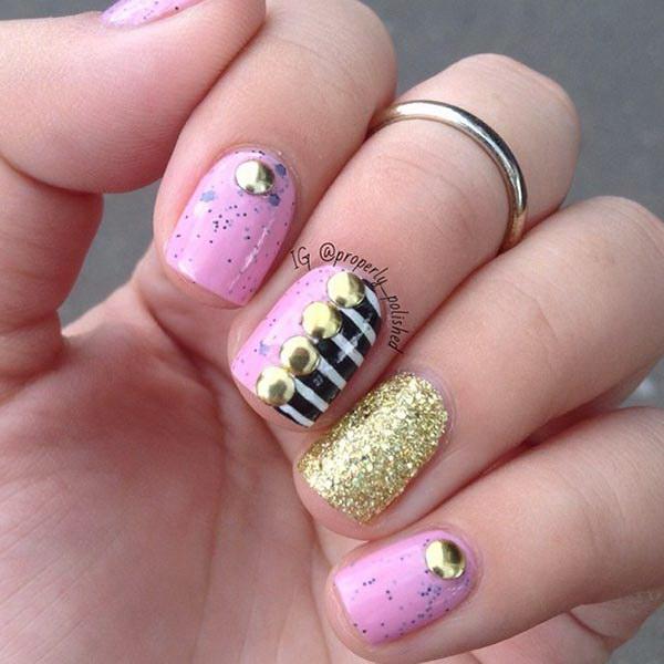 Cool Nail Designs For Short Nails: 35+ Cute Nail Designs For Short Nails
