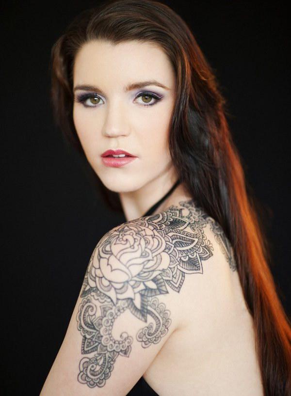 Quarter Sleeve Tattoo for Women.