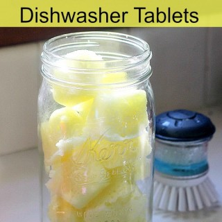 Homemade Dishwasher Detergent Recipes and Tutorials