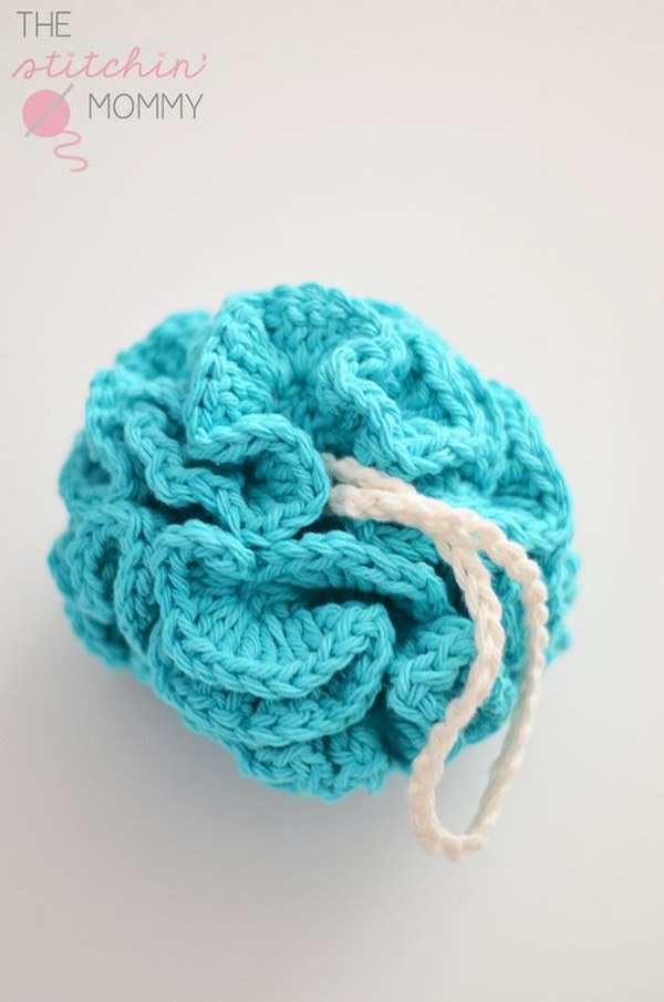 Free Crochet Pattern For Bath Pouf : 30+ Easy Crochet Projects with Free Patterns for Beginners