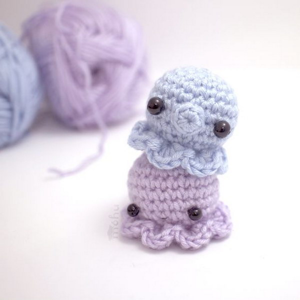 Crochet Octopus Free Amigurumi Pattern