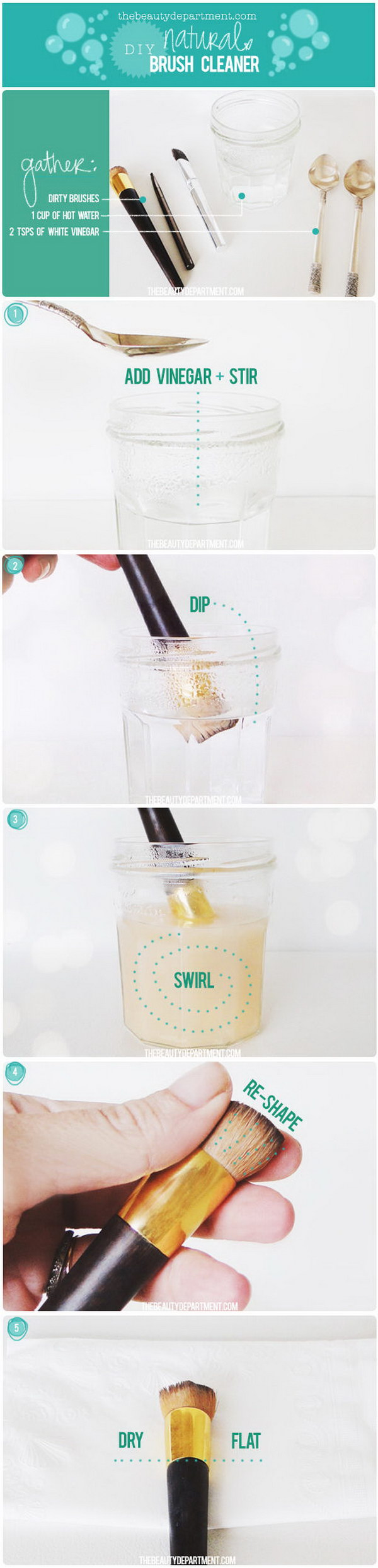 how to get oil out of makeup brushes