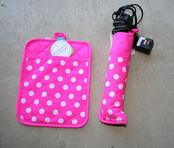 Heat Safe Hair Tools Carrier.