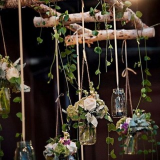 Diy rustic wedding archives styletic 50 beautiful rustic wedding decorations junglespirit Gallery