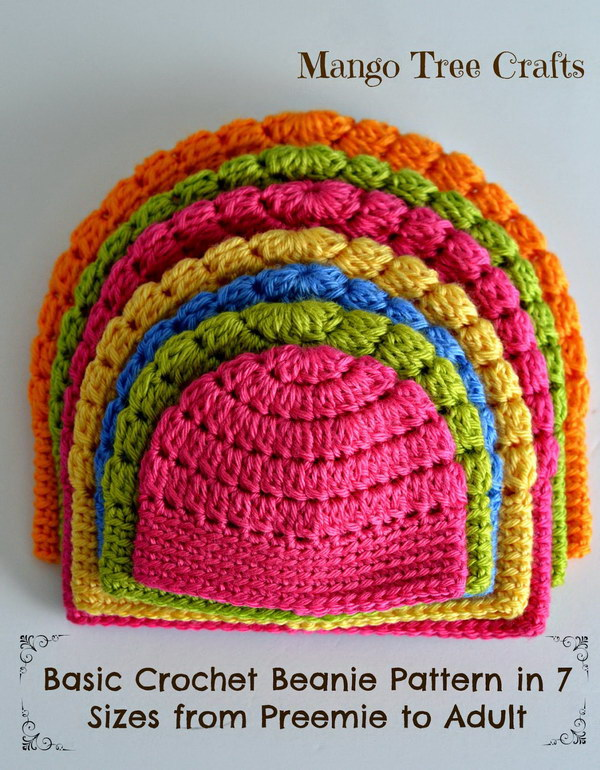 Crochet Tutorial Hat : 25 Easy Crochet Hats with Free Tutorials - Styletic