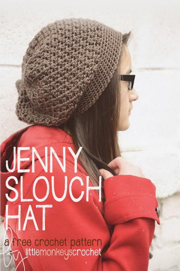 Jenny Slouch Hat.
