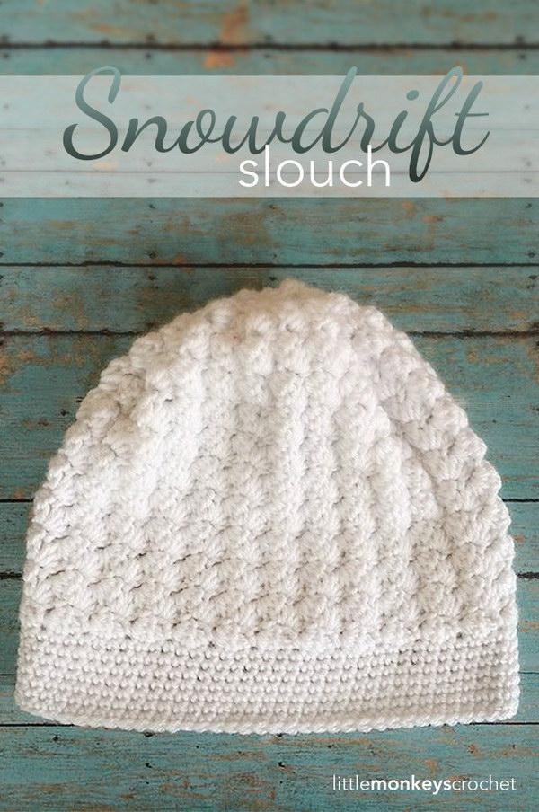 Snowdrift Slouch Hat.