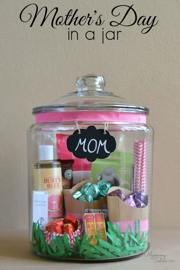 Mother's Day Gift In A Jar.