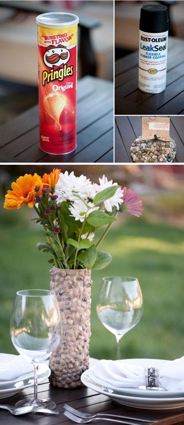 Beautiful Handcrafted Rock Vase.